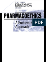 Pharmacoethics A Problem-Based Approach Pharmacy Education Series