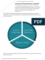 How the 3 Financial Statements Are Linked Together - Step by Step