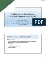 materi peserta Semen Analysis for GP Indonesian doctor