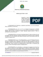 Decisão - TSE (21/01/2021)