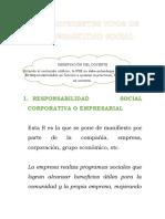 LOS DIFERENTES TIPOS DE RESPONSABILIDAD SOCIAL