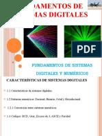 Sistemas digitales FUNDAMENTOS