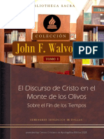 1 - El Discurso de Cristo en el Monte de los Olivos - John F. Walvoord