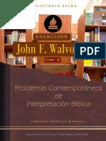 3 - Problemas Contemporáneos de Interpretación Bíblica - John F Walvoord