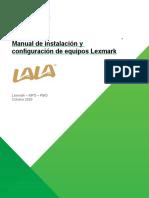 Grupoa Lala Manual de Configuración