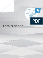 Manual Uscator de Rufe Bosch 8 Kg