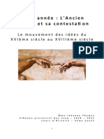 IV - Le mouvement des idées