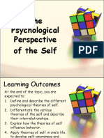Canvas Psychological Perspective of Self