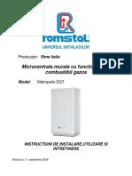MetropolisDGT-Instalareutilizareintretinere