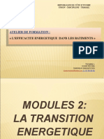Module 2. LA TRANSITION ENERGETIQUE