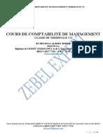 COURS INTEGRAL DE COMPTABILITE DE MANAGEMENT