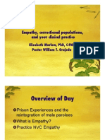 Empathy in Incarcerated Populations