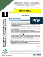 Prova - Servico Social - Tipo 1 2017