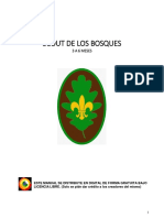 manual scout de los bosques