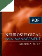1_Extract_Neurosurgical Pain Management - K. Follett (Elsevier, 2004) WW