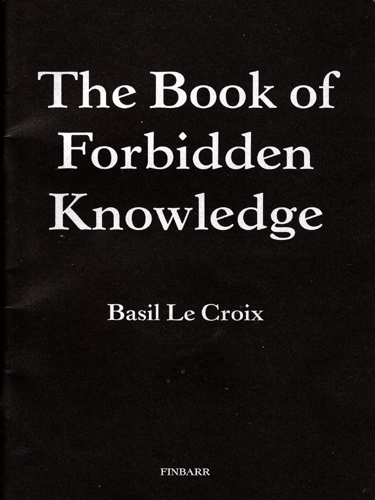 Basil Crouch The Book Of Forbidden Knowledge