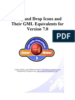 Drag and Drop Icons and Their GML Equivalents for Version 7.0