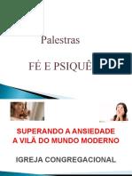 ANSIEDADE A VILÃ DO MUNDO MODERNO 1