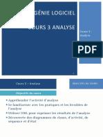 Chapitre 3 - Analyse