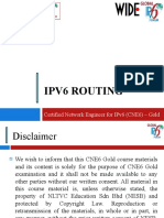 1. IPv6 Routing