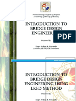 Lecture 2.0 - Introduction to LRFD Bridge Design