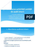 Audit intern Tema 3
