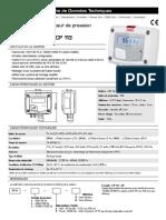 Capteur pression diff CP111_112_113