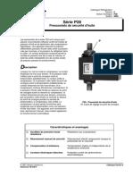 Pressostats série P28