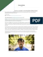 Se o Brasil achar solução para si, vai salvar o resto do mundo, diz Bruno Latour - 12_09_2020 - Ambiente - Folha
