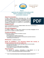 Appel Candidature M-IsI 19-20