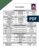 Ficha Técnica. Pablo