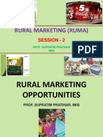 Session - 2 - RURAL MARKETING OPPORTUNITIES