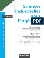 Sciences Industrielles Pour l'Ingénieur 1ere Année