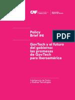 GovTech y El Futuro Del Gobierno Las Promesas de GovTech Para Iberoamerica