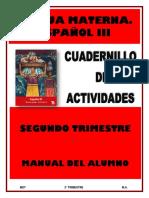 3° ESPAÑOL 2T - ALUMNO