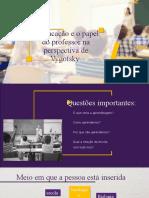 A educação e o papel do professor na (1) (1)
