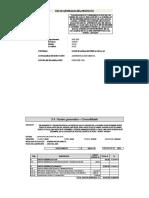 5.4 Desagregado de gastos generales
