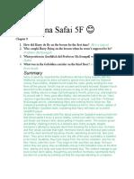 Asena Safai 5F 12