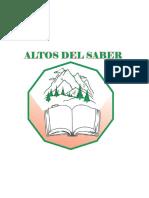 INSTITUCION EDUCATIVA ALTOS DEL SABER