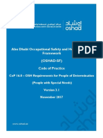 16.0 - OSH Requirements for People of Determination (People with Special Needs) v3.1 English