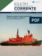 Boletim Geocorrente 127 - 22 OUTUBRO 2020