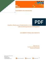 Documento Técnico de Soporte. Estudios y diseños