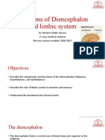 Functions of Diencephalon and Limbic System