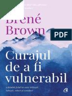 Curajul de a fi vulnerabil - Brene Brown