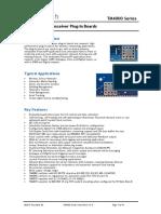 TM4000 Series Data Sheet 1.8