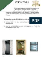 Lift&Elevator system