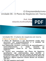 Unidade 06 - O Plano de Negócios em Teoria