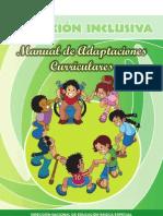 Manual Adaptaciones Curriculares