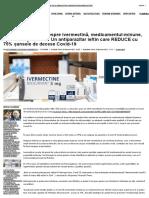 FINANCIAL TIMES despre ivermectină, medicamentul-minune, aprobat deja în SUA_ Un antiparazitar ieftin care REDUCE cu 75% șansele de decese Covid-19 _ ActiveNews