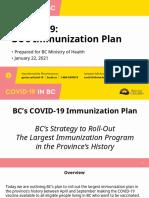 B.C.'s immunization plan